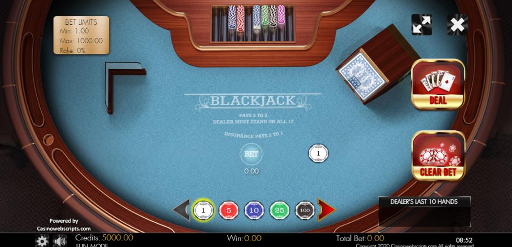 Blackjack Clàssic